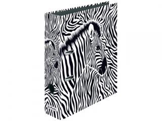 Segregator A4 8cm HERLITZ maX.file - Animal print zebra