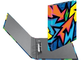 Segregator A4 4cm 2R HERLITZ maX.file - Neon Art