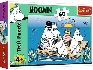 Puzzle   60 TREFL Muminki nad jeziorem