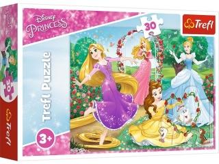 Puzzle   30 TREFL Disney Ksiê¿niczki - Byæ ksiê¿niczk±