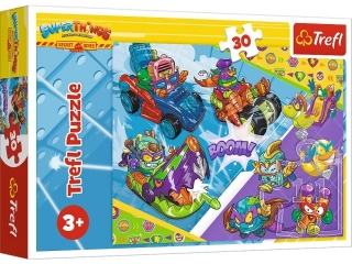 Puzzle   30 TREFL Super Things - Dru¿yna super Szpiegów