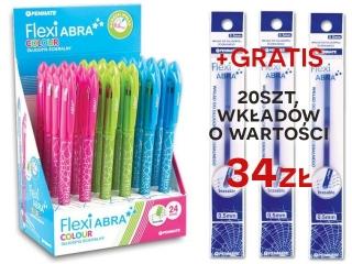 Zestaw promocyjny Flexi Abra Colour niebieski a24 + 20szt wk