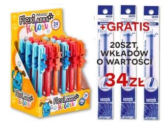 Zestaw promocyjny Flexi Abra Kolori Pieski a24 + 20szt wk³ad