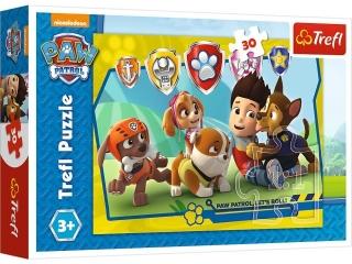 Puzzle   30 TREFL Psi patrol - Ryder i przyjaciele