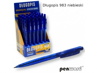 D³ugopis PERNWORD 983 niebieski