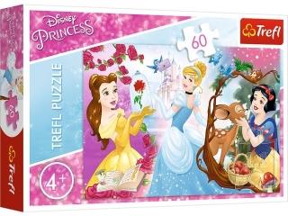 Puzzle   60 TREFL Disney Ksiê¿niczki - Zaproszenie na bal
