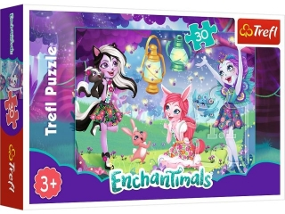 Puzzle   30 TREFL Enchantimals- Magiczny ¶wiat Enchantimals
