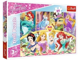 Puzzle   24 Maxi TREFL Disney Ksiê¿niczki - Magia wspomnieñ
