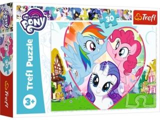 Puzzle   30 TREFL My Little Pony - Razem lepiej