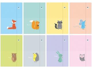 Teczka z gumka A4+ INTERDRUK B&B Kids Pastel