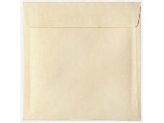 Koperta kwadratowa 160x160 (25szt) Per³owe Wanilia zest.539