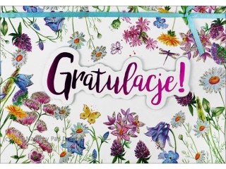 Kartki karnet B6 HM 200-1294 Gratulacje