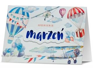 Kartki karnet B6 HM 200-1592 Spe³nienia marzeñ
