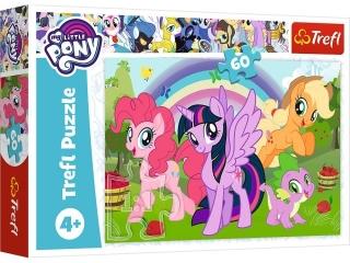 Puzzle   60 TREFL My Little Pony - Têczowa przyja¼ñ