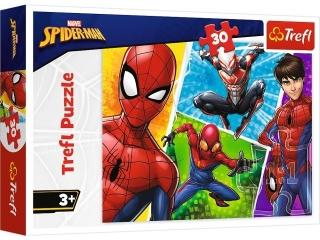 Puzzle   30 TREFL Spider-Man i Miguel