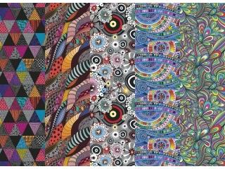 Papier ozdobny w rolkach POL-MAK 70x100 zestaw 194 Grafika-k