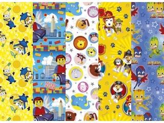 Papier ozdobny w rolkach POL-MAK 70x100 zestaw 192 Dzieciêce