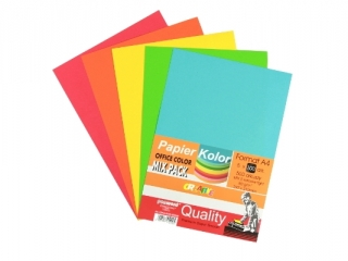 PAPIER OFFICE COLOR A4/500-5 STANDARD MIX PSH k5