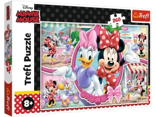 Puzzle  260 TREFL Weso³y dzieñ Minnie