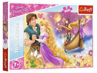 Puzzle  200 TREFL Disney Ksiê¿niczki - Magiczny ¶wiat ksiê¿niczek