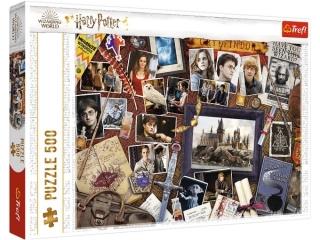 Puzzle  500 TREFL Harry Potter - Pami±tki z Hogwartu