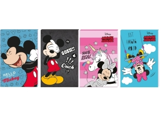 Notes A6 30k. z poddrukiem BENIAMIN Minnie x Mickey