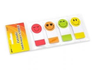Zak³adki indeksuj±ce PENWORD Papierowe Smile (ZI-19)