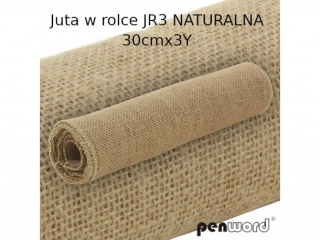 JUTA W ROLCE Jr3 NATURALNA 30cmx3Y