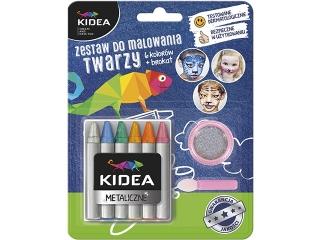 Zestaw do malowania twarzy KIDEA