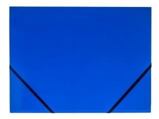 Teczka kartonowa TETIS z gumk± naro¿na A4 niebieska