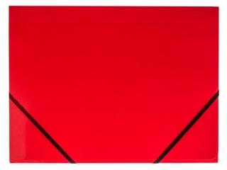 Teczka kartonowa TETIS z gumk± naro¿na A4 czerwona
