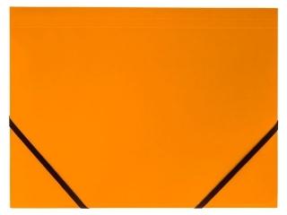 Teczka kartonowa TETIS z gumk± naro¿na A4 pomarañczowa