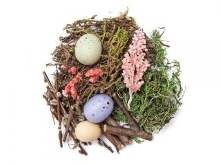 Naturalne elementy DPCRAFT mix 30g Wielkanocny - pastel