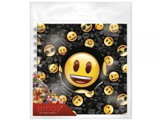 Pamiêtnik spiralny DERFORM B Emoji