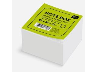 Kostka papierowa bia³a 85x85x35 mm nieklejona