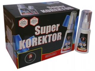 Korektor NOSTER Super KO-01 2w1 PÊDZELEK + MET KOÑCÓWKA