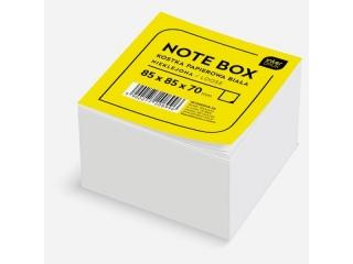 Kostka papierowa INTERDRUK bia³a 85x85x70 mm nieklejona