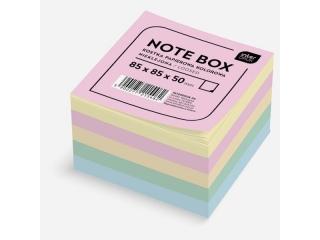 Kostka papierowa kolorowa 85x85x50 mm nieklejona