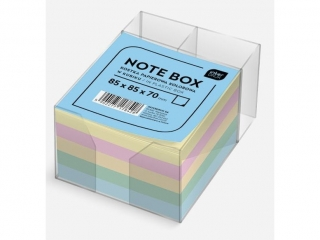 Kostka papierowa kolorowa 85x85x70 mm w kubiku