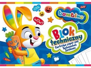 Blok techniczny A4 10k. BAMBINO