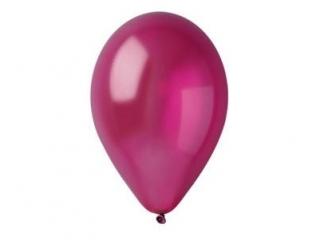 Balony GEMAR metal 26cm burgundowe 100szt. (GM90-52)