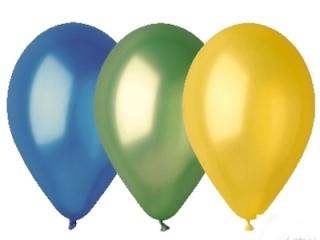 Balony GEMAR metal 26cm  mix kolorów 100szt. (GM90-mix)