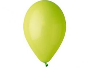 Balony GEMAR pastel 26cm pistacjowe 100szt. (G90-11)