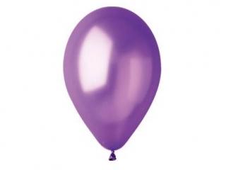 Balony GEMAR metal 26cm fioletowe 100szt. (GM90-34)