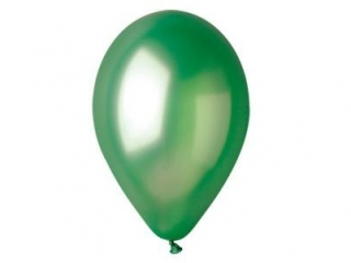 Balony GEMAR metal 26cm zielone 100szt. (GM90-37)