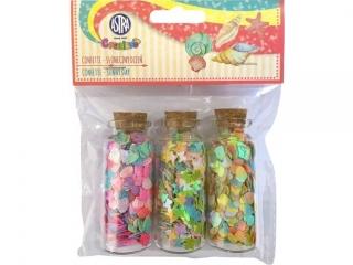 Confetti 3x10g buteleczki szklane - S³oneczny dzieñ