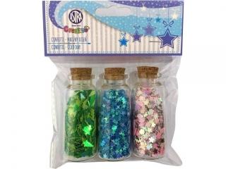 Confetti 3x10g buteleczki szklane - Mro¼ny dzieñ