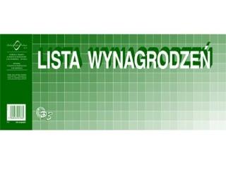 Druk-lista wynagrodzeñ 1/2 A3 P03