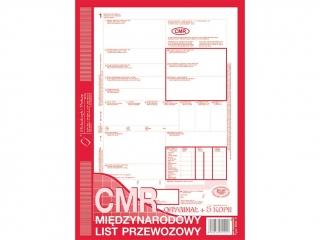 Druk 800-3 CMR Miêdzynarodowy list przewozowy A4