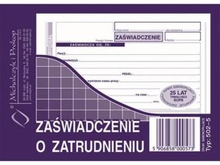 Druk-rach.do umowy zlecenia A5 (o+k) 502-5